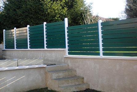 Cloture PVC : choix, qualité aux meilleurs prix | Plastic Line